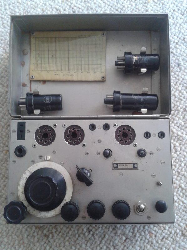 Whaddon Mark Seven a.k.a. Paraset. Allied Spy radio from World War 2.