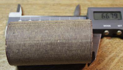 Coil former 66 mm long